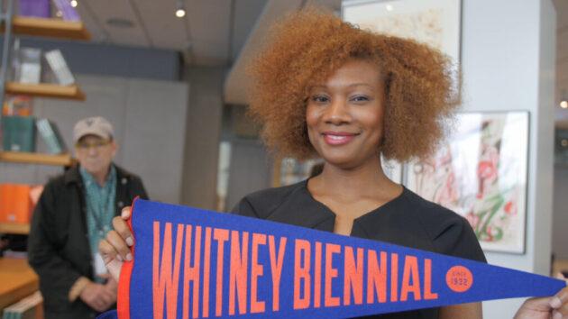 Whitney Biennial Pennant